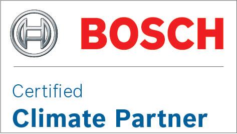 Bosch logo, certificeret klima partner